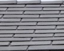Slate Effect Tiles : Grey
