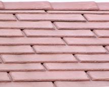 Slate Effect Tiles : Terracotta