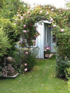 National Trust Flatford Summerhouse Turned Sewing Room