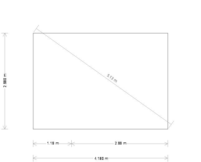 10 x 14ft Apex Garden Room  (13917) base plan