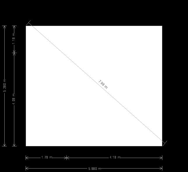 17 x 20ft Garden Room (23099) base plan