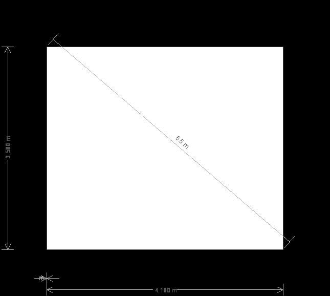 14 x 12 Garden Room with Veranda (6761) base plan