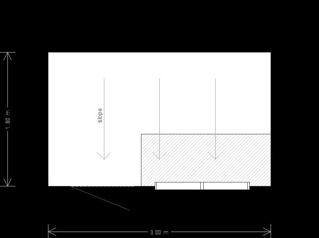 6 x 10ft Superior Shed with Georgian Windows (10911) floorplan