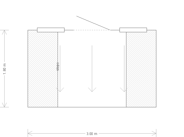 6 x 10 Superior Shed with Pent Roof: Front
