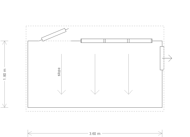 6 x 12 Superior Shed with Pent Roof (Ref: 167) (167) floorplan