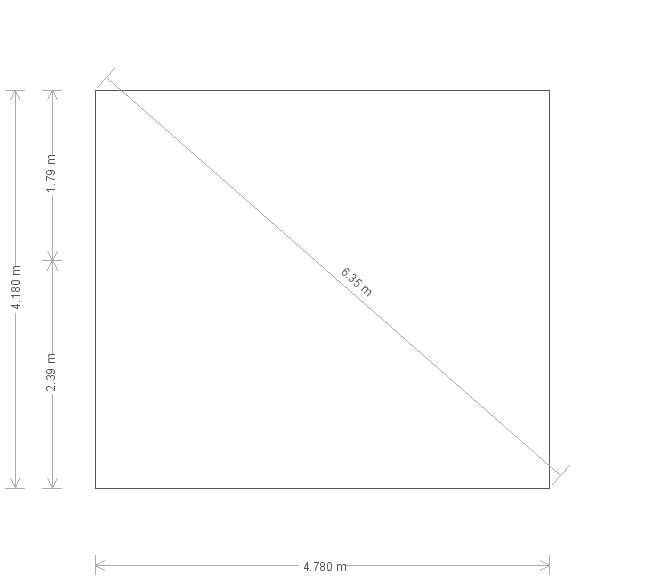 16 x 14ft Superior Shed in Farrow & Ball Down Pipe (20235) base plan