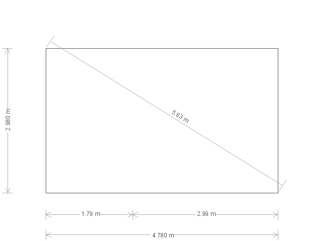 10 x 16ft Garden Shed (22607) base plan