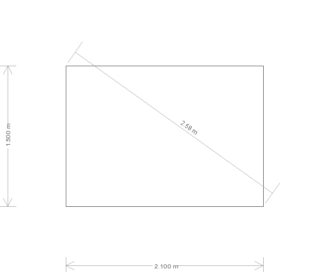 5 x 6 Superior Shed - (Ref: 515) (515) base plan
