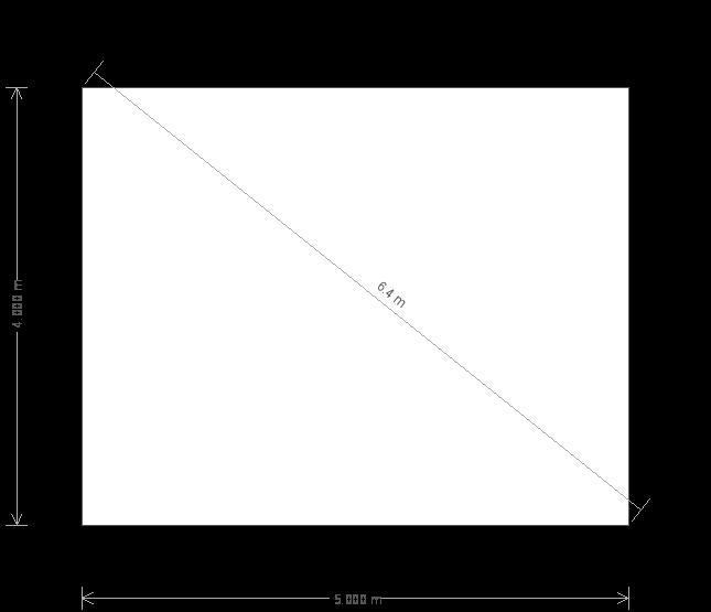 13 x 16 Superior Shed (5709) base plan
