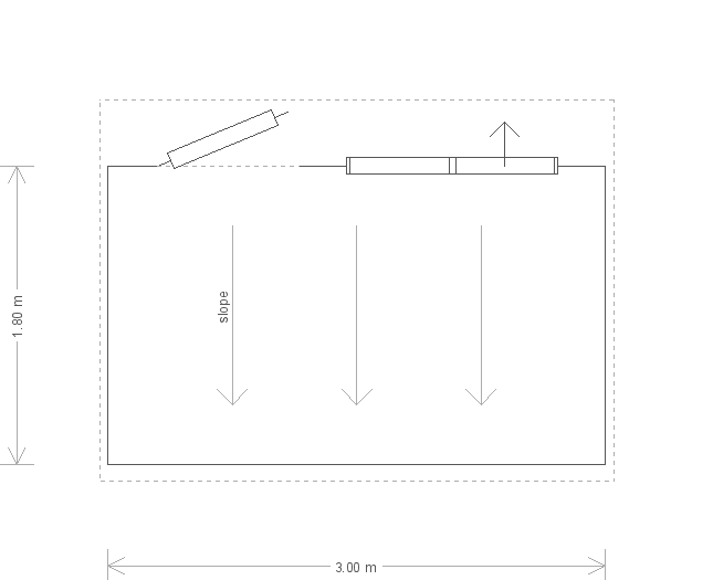 6 x 10 Superior Shed (Ref: 689) (689) floorplan