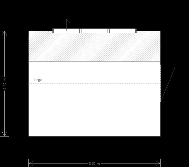 8 x 10 Superior Garden Shed With Sage Paint (8267) floorplan