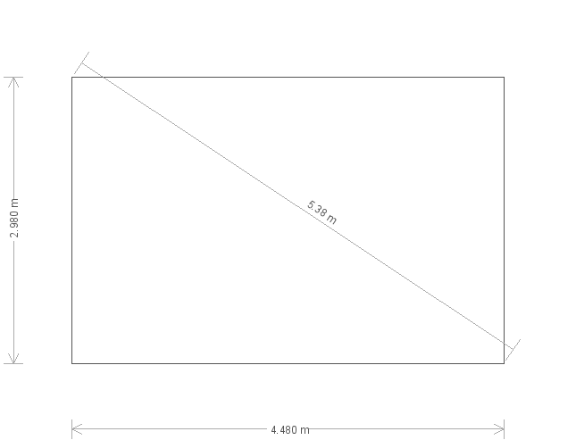 10 x 15 Holkham Summerhouse (Ref: 967) (967) base plan