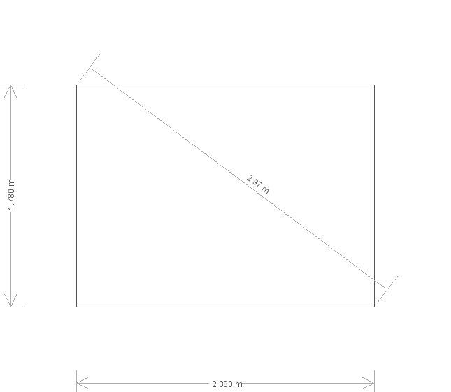 8 X 10 Classic Shed In Moss With Apex Roof (9735) base plan
