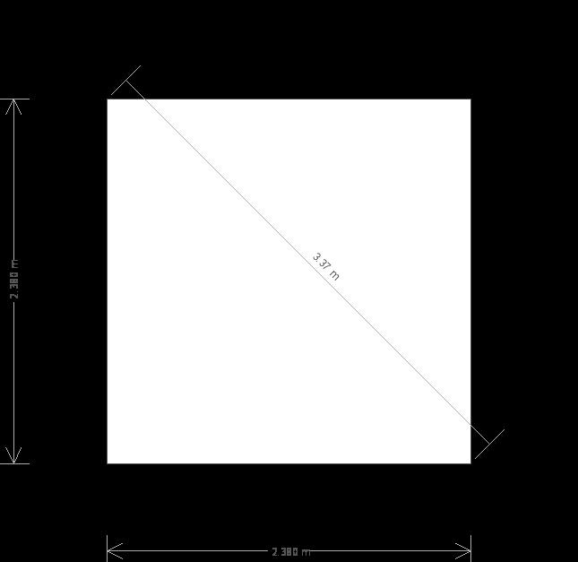 8 X 8 Burnham Garden Studio (10639) base plan