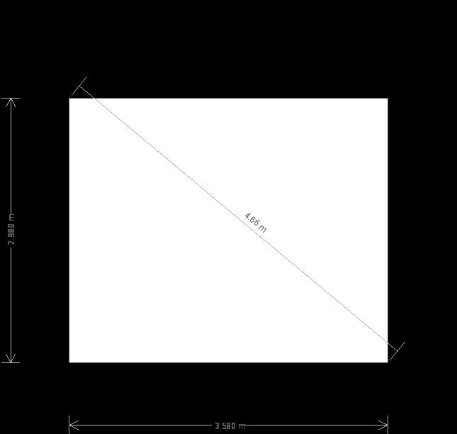 10 X 12 Salthouse Studio With Pent Roofplan (10755) base plan