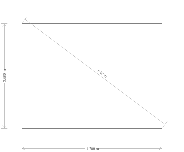 12 x 16ft Burnham Studio with Electrics  (12311) base plan