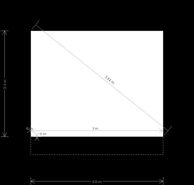 10 x 8 Binham Garden Studio (Ref: 131) (131) base plan