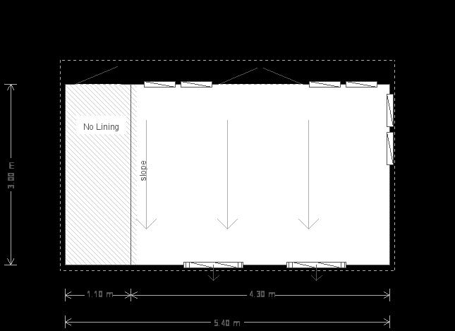 10 x 18ft Salthouse Studio  (17495) floorplan