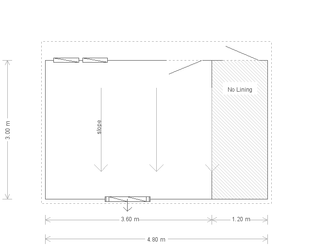 10 x 16ft Salthouse Studio with Storage Partition (18459) floorplan