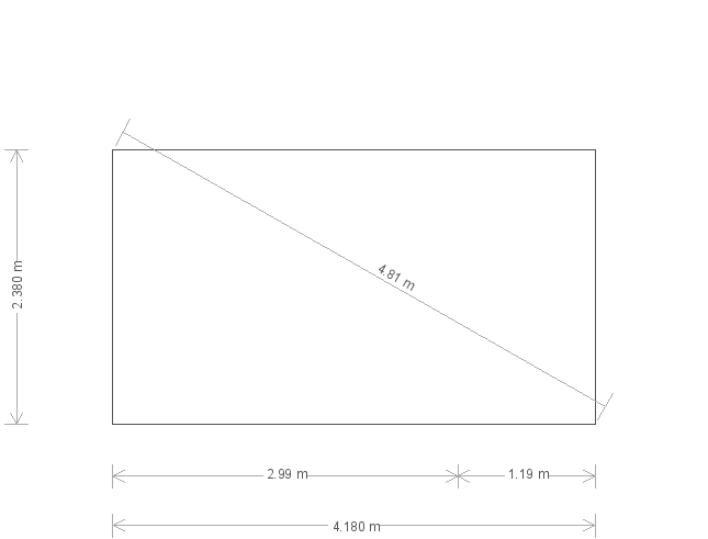 8 x 14 Salthouse Garden Studio with Storage Partition (20233) base plan