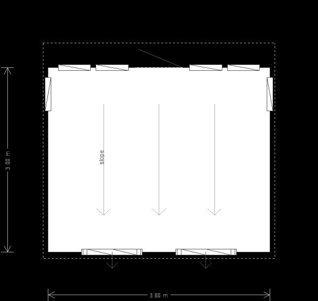 10 x 12ft Garden Studio (21299) floorplan