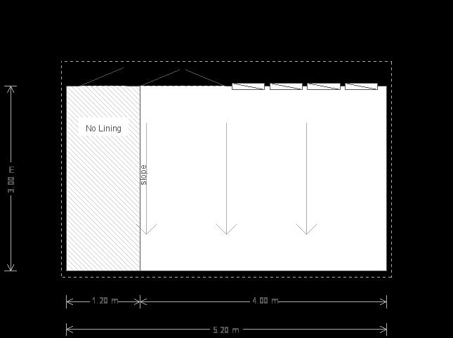 10 x 17ft Garden Studio with Partition (21941) floorplan