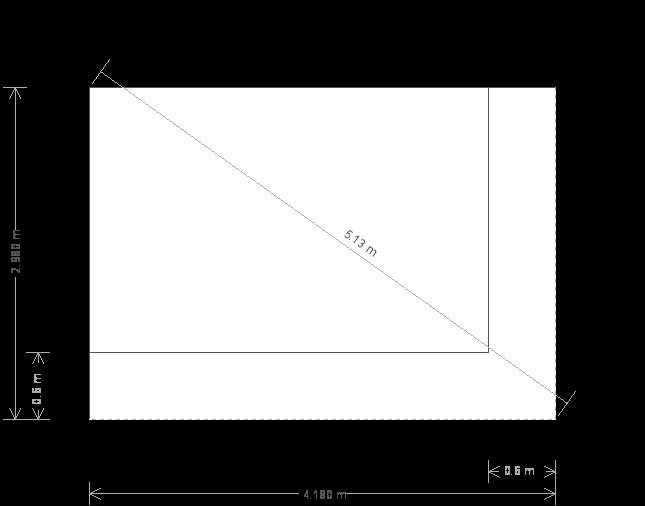 14 x 10ft Garden Office (23167) base plan
