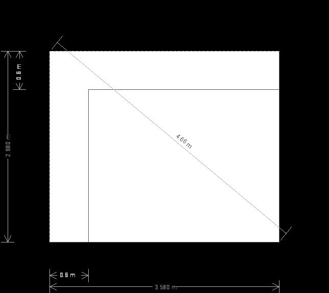 10 x 12ft Garden Office (23407) base plan
