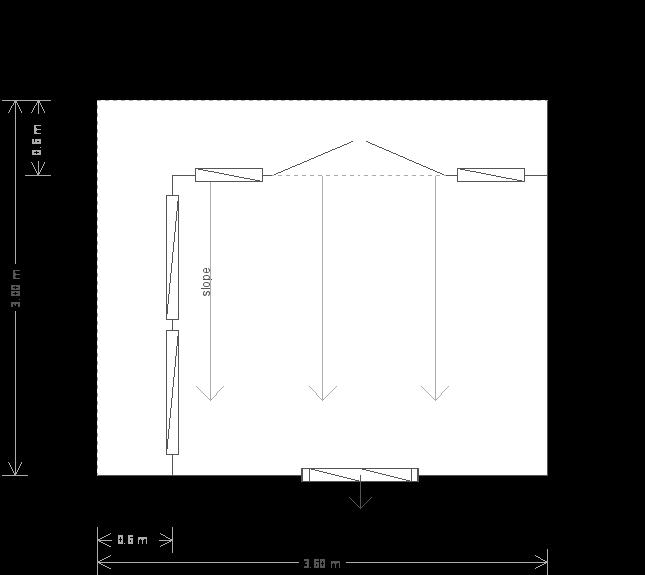 10 x 12ft Garden Office (23407) floorplan
