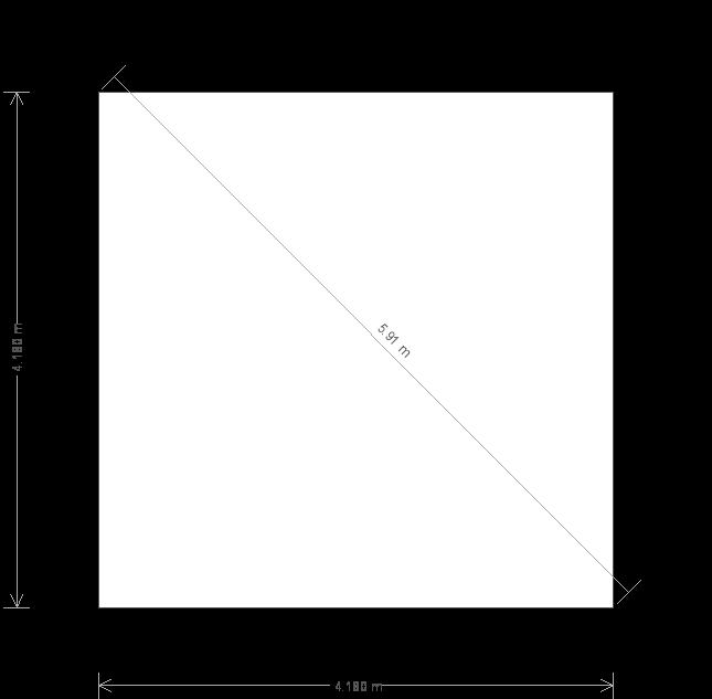 14 x 14ft Garden Studio (25107) base plan