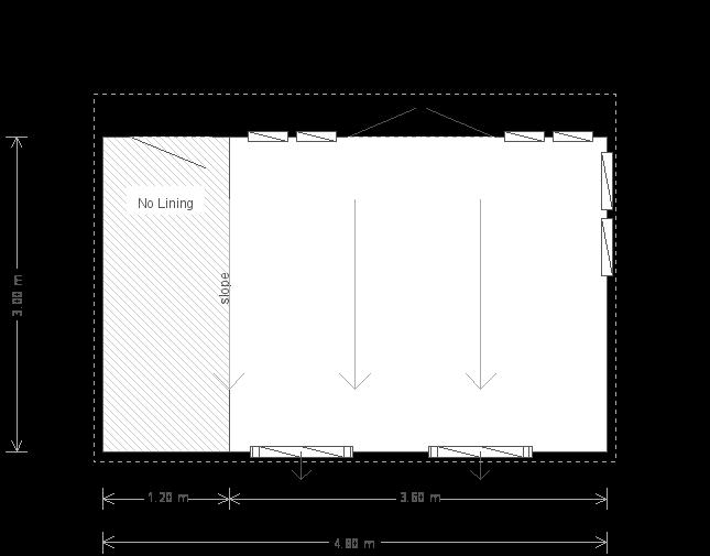 10 x 16 Salthouse Garden Studio (6659) floorplan