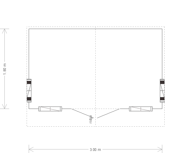 10 X 6 Ickworth National Trust Summerhouse (17429) floorplan