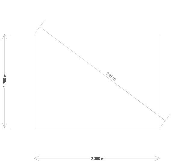 6 x 8 Lavenham Summerhouse With Apex Roof (5123) base plan