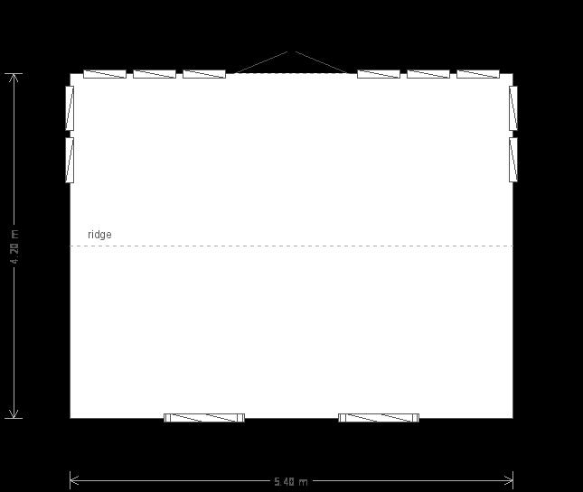 Burnham Studio: Floorplan