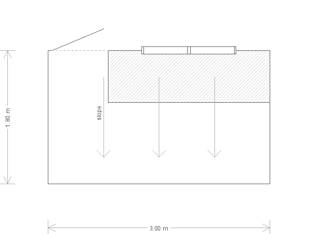 Classic Shed: Floorplan