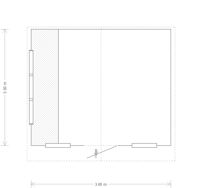 Superior Shed: Floorplan