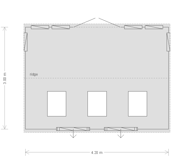 Burnham Studio: Floorplan