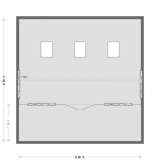 Garden Room With Veranda Garden Room: Floorplan