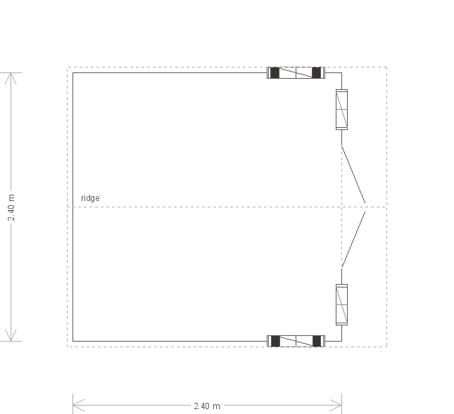 Ickworth National Trust Summerhouse: Floorplan