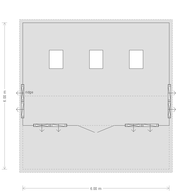 Pavilion Garden Room: Floorplan