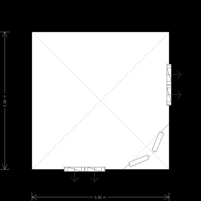 Weybourne Summerhouse: Floorplan