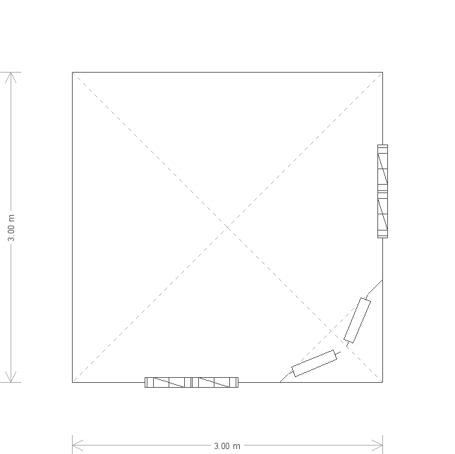Weybourne Summerhouse: Floorplan