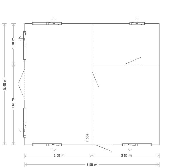 Langham Studio: Floorplan