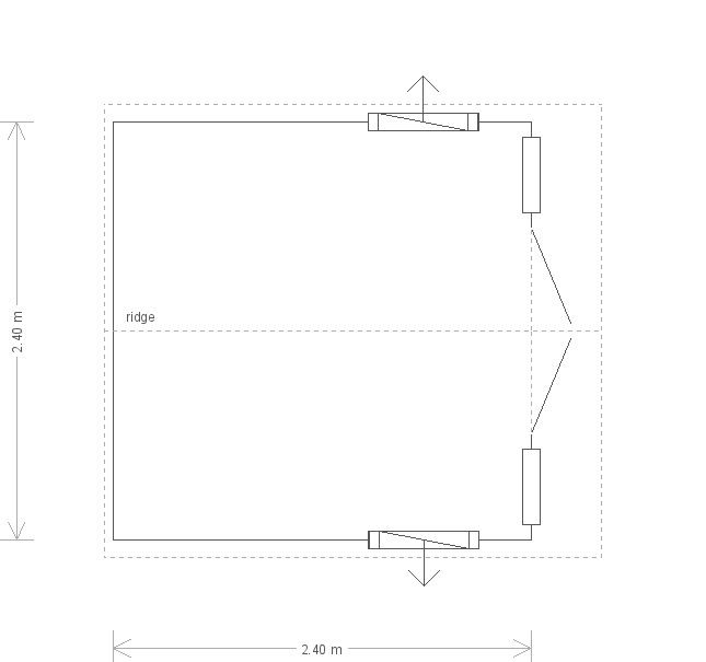 Blakeney Summerhouse: Floorplan