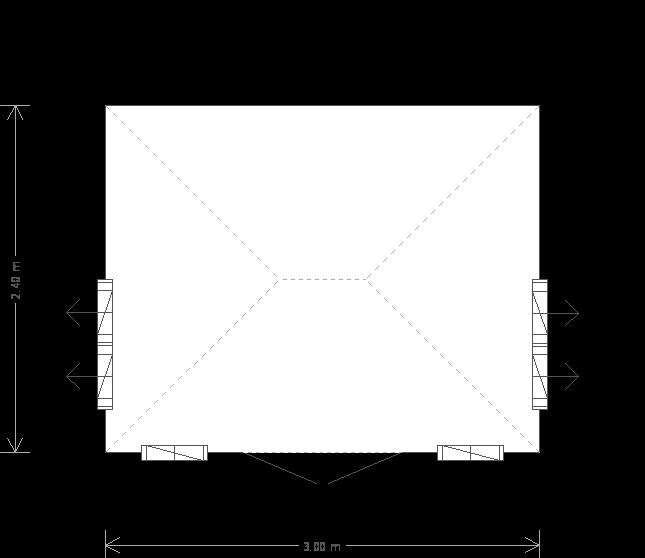 Cley Summerhouse: Floorplan