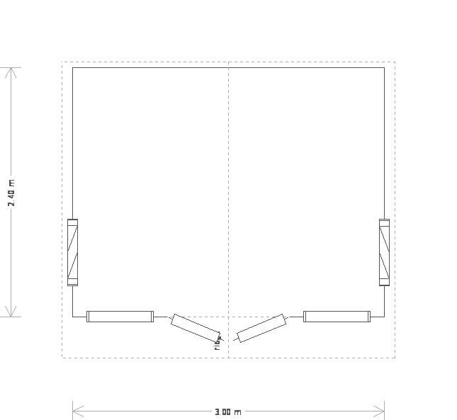 Blakeney Summerhouse: Floorplan