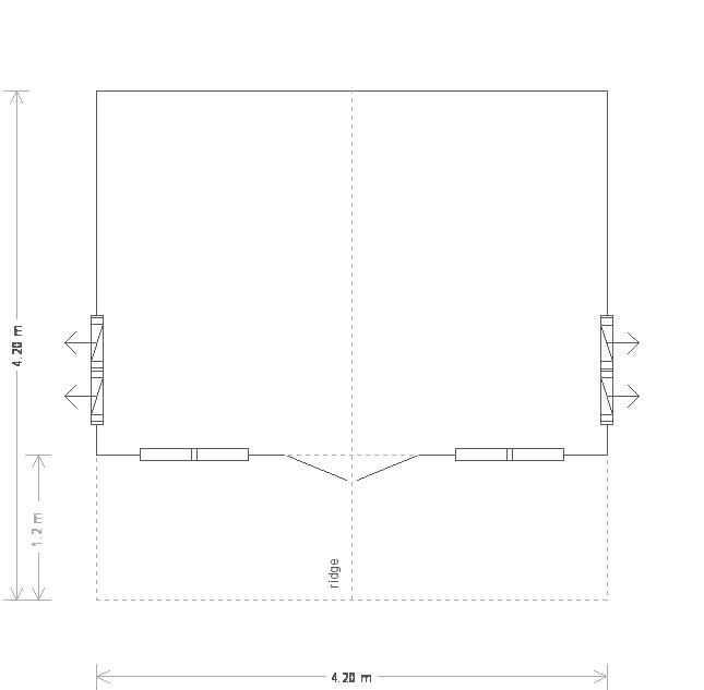 Morston Summerhouse: Floorplan
