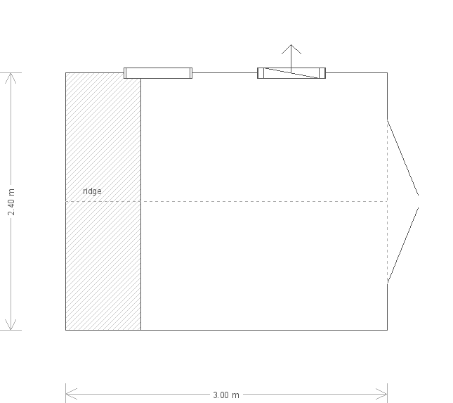 Classic Shed: Floorplan