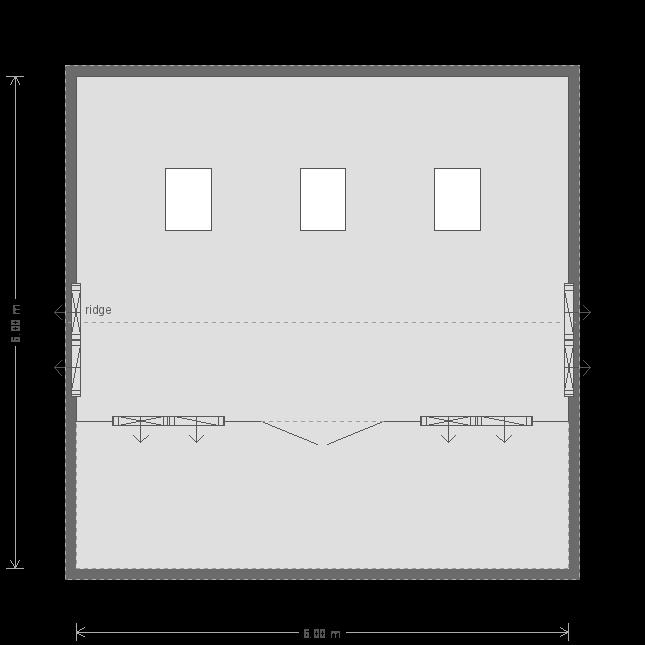 Pavilion Garden Room: Floorplan