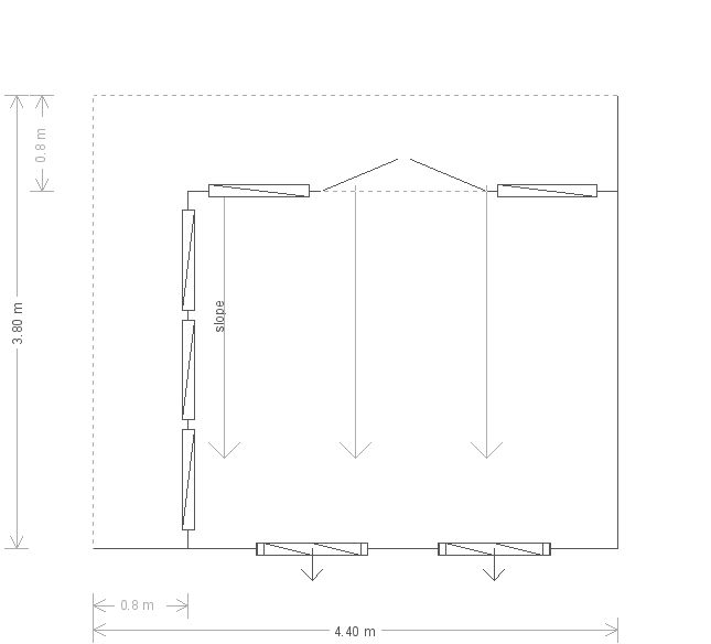 Holt Studio: Floorplan